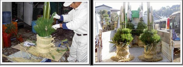 社長の作業風景-神奈川で造園、エクステリア工事なら鈴木造園にお任せ下さい。造園、植栽、神奈川・東京の庭施工、坪庭・垣根施工